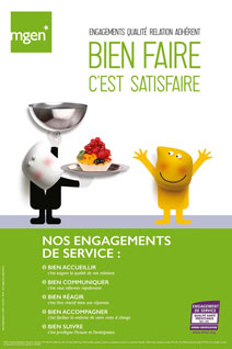 Qualité de service : engagements 2016