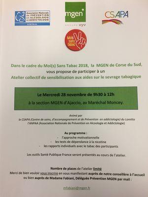 Mutuelle et Assurance   Votre Section MGEN de La Corse-du-Sud   MGEN 94edc8c31486